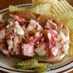 Enjoy one of our signature Lobster Rolls